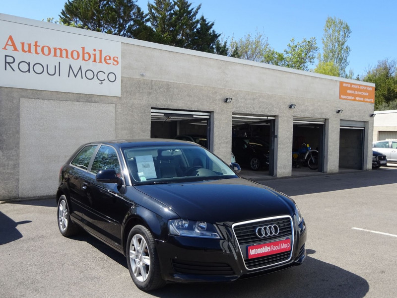 Audi A3 1.9 TDI 105CH AMBITION LUXE 3P Diesel NOIR Occasion à vendre