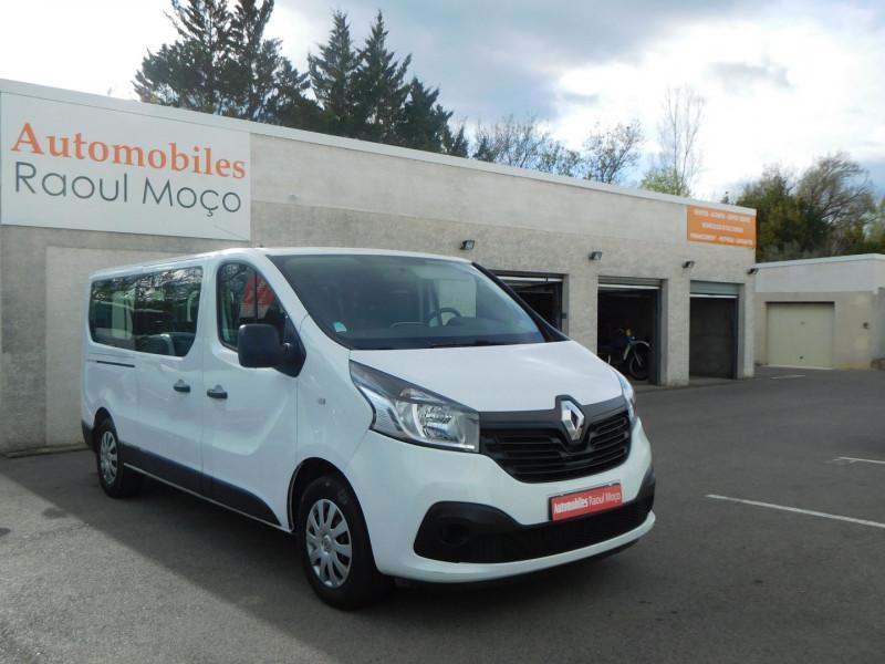 Renault TRAFIC III COMBI L1 1.6 DCI 95CH STOP&START ZEN 8 PLACES Diesel BLANC Occasion à vendre
