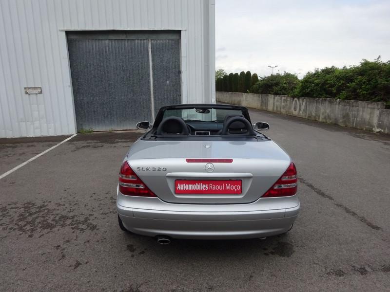 Photo 10 de l'offre de MERCEDES-BENZ CLASSE SLK (R170) 320 BA à 7900€ chez Automobiles Raoul Moço