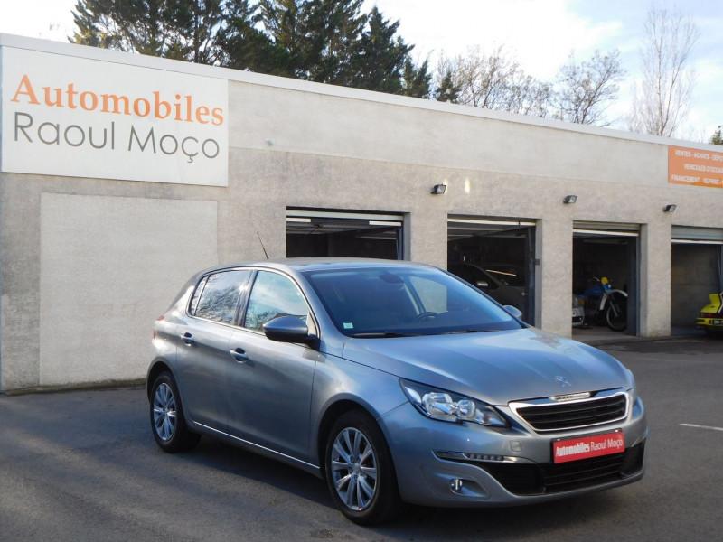 Peugeot 308 1.6 BLUEHDI 120CH STYLE S&S EAT6 5P Diesel GRIS Occasion à vendre