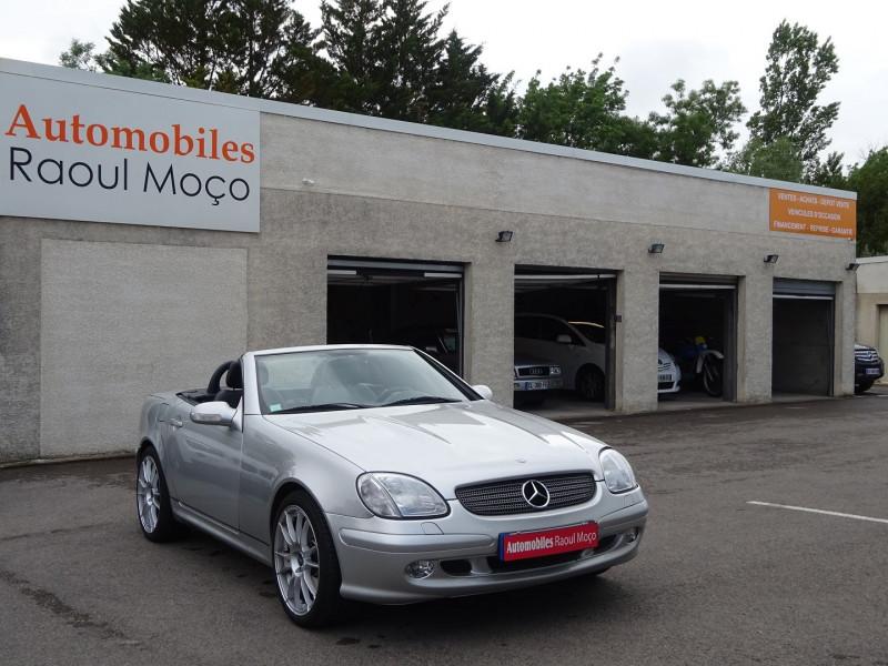 Mercedes-Benz CLASSE SLK (R170) 320 BA Essence GRIS Occasion à vendre