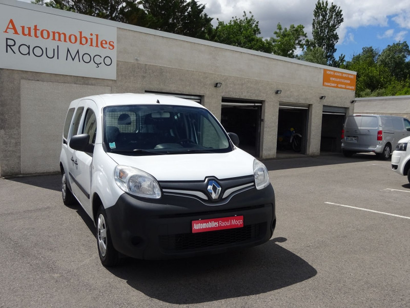 Renault KANGOO II EXPRESS 1.5 DCI 90 MAXI CABINE APPROFONDIE EXTRA R-LINK Diesel BLANC Occasion à vendre