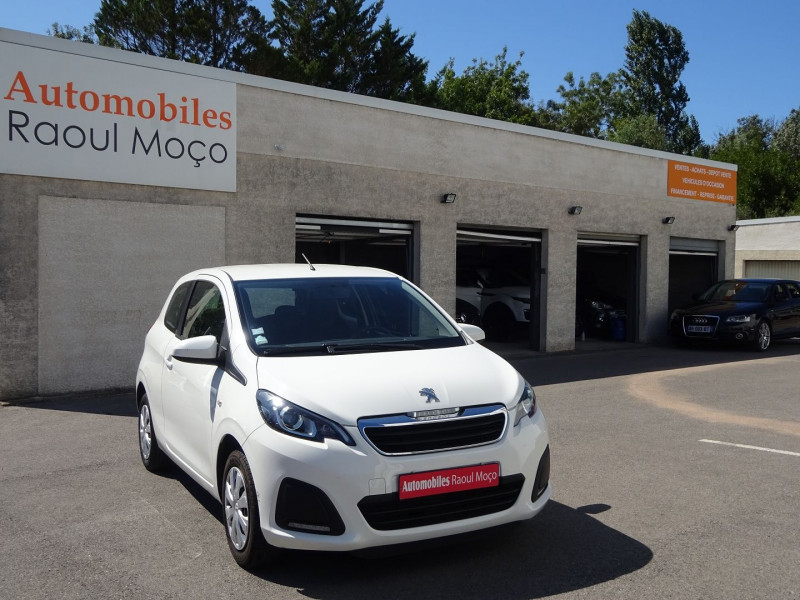 Photo 1 de l'offre de PEUGEOT 108 1.0 VTI ACTIVE 3P à 7900€ chez Automobiles Raoul Moço