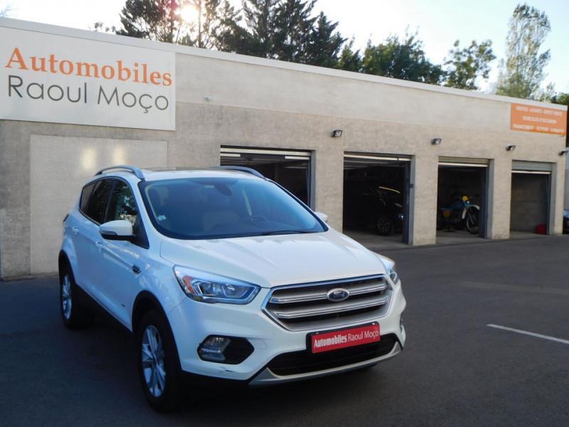 Ford KUGA 2.0 TDCI 150CH STOP&START TITANIUM 4X4 Diesel BLANC Occasion à vendre