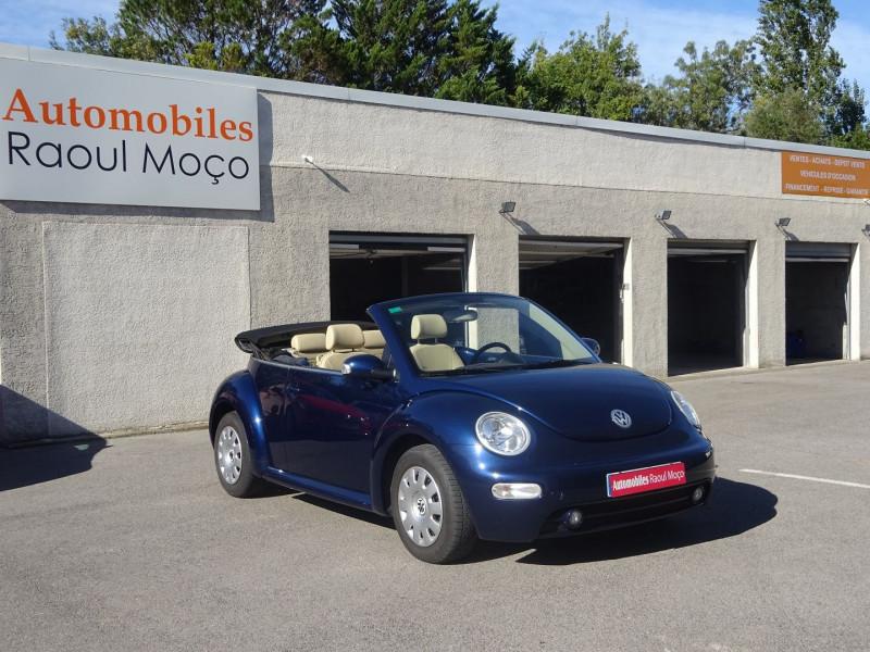 Volkswagen BEETLE CAB 2.0 115CH CARAT Essence BLEU Occasion à vendre