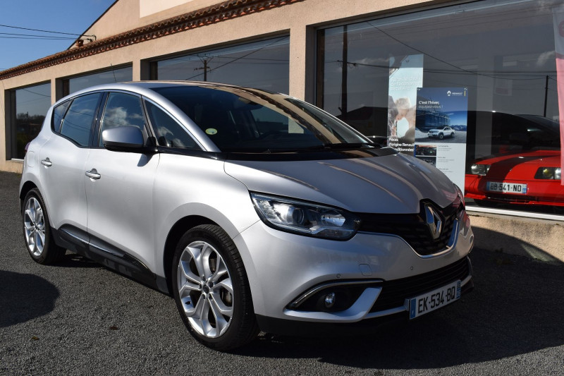Renault SCENIC IV 1.5 DCI 110CH ENERGY BUSINESS Diesel GRIS PLATINE Occasion à vendre