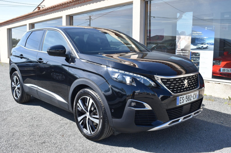 Photo 1 de l'offre de PEUGEOT 3008 1.6 BLUEHDI 120CH GT LINE S&S EAT6 à 21490€ chez Garage Charrier