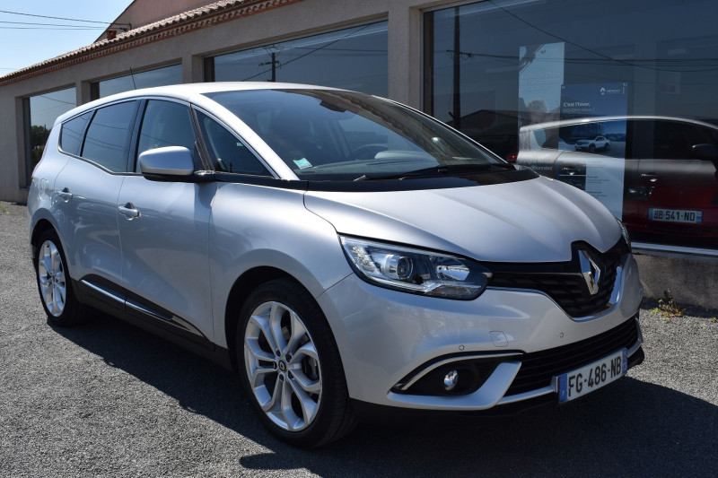 Renault GRAND SCENIC IV 1.7 BLUE DCI 120CH BUSINESS EDC 7 PLACES Diesel GRIS PLATINE Occasion à vendre