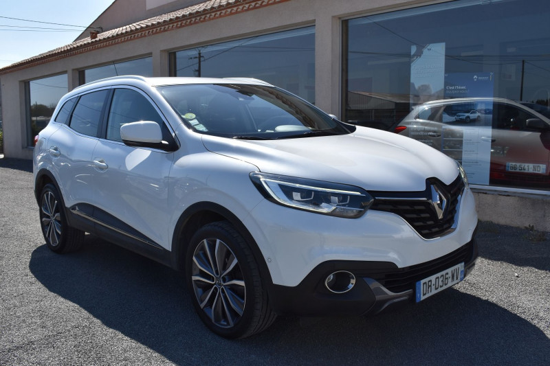 Renault KADJAR 1.5 DCI 110CH ENERGY INTENS ECO² Diesel BLANC NACRÉ Occasion à vendre