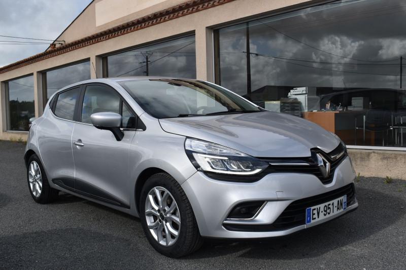Renault CLIO IV 1.5 DCI 90CH ENERGY INTENS 5P Diesel GRIS PLATINE Occasion à vendre