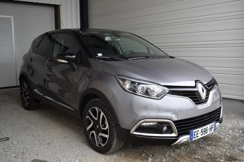 Renault CAPTUR 1.5 DCI 90CH STOP&START ENERGY INTENS ECO² EURO6 2016 Diesel GRIS CASSIOPÉE / N Occasion à vendre