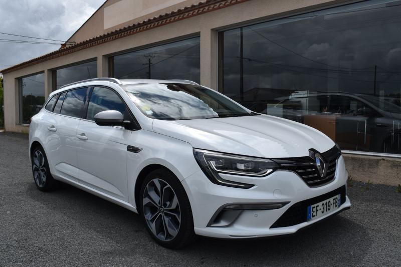 Renault MEGANE IV ESTATE 1.6 DCI 130CH ENERGY INTENS Diesel BLANC NACRÉ Occasion à vendre