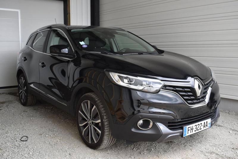 Renault KADJAR 1.2 TCE 130CH ENERGY INTENS EDC Essence NOIR NACRÉ Occasion à vendre