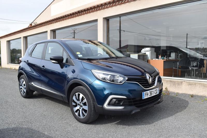 Renault CAPTUR 1.5 DCI 90CH ENERGY BUSINESS EURO6C Diesel BLEU OCEAN Occasion à vendre