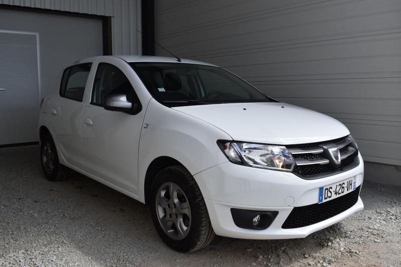 Dacia SANDERO 1.2 16V 75CH SL 10 ANS Essence BLANC Occasion à vendre