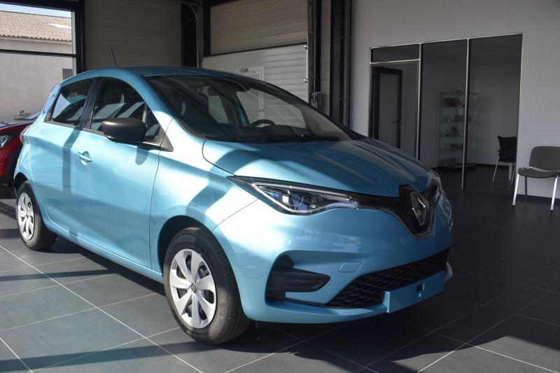Renault ZOE E-TECH LIFE CHARGE NORMALE R110 ACHAT INTEGRAL - 21 Electrique BLEU CELADON Occasion à vendre