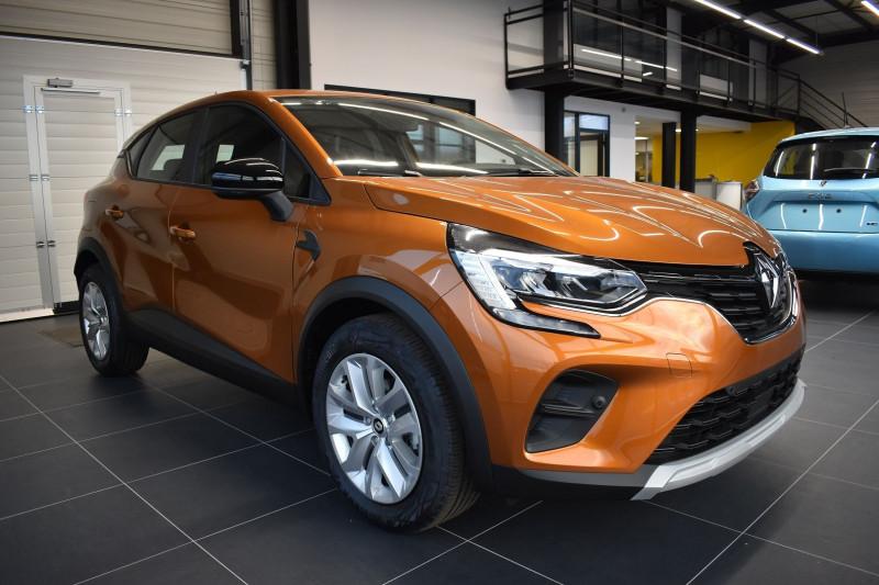 Renault CAPTUR II 1.0 TCE 90CH BUSINESS Essence ORANGE ATACAMA Occasion à vendre