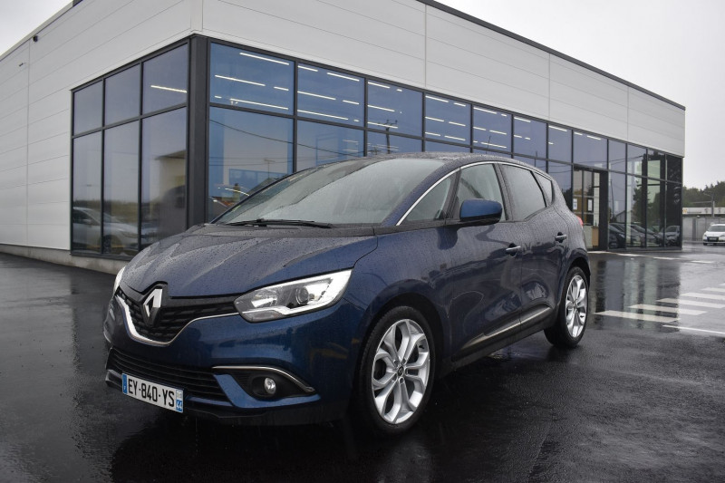 Renault SCENIC IV 1.5 DCI 110CH ENERGY BUSINESS Diesel BLEU COSMOS Occasion à vendre