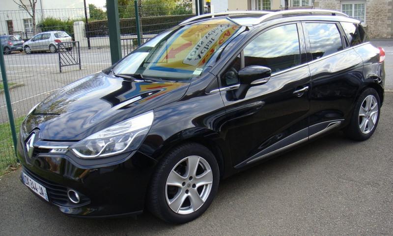 Renault CLIO IV ESTATE 1.5 DCI 90CH ENERGY INTENS ECO² 90G Diesel NOIR Occasion à vendre