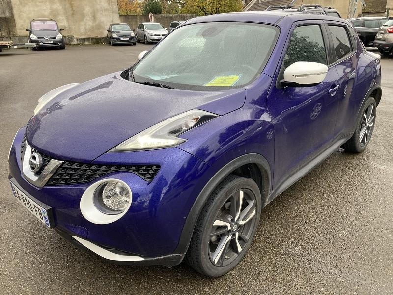 Nissan JUKE 1.2 DIG-T 115CH CONNECT EDITION EURO6 Essence BLEU Occasion à vendre