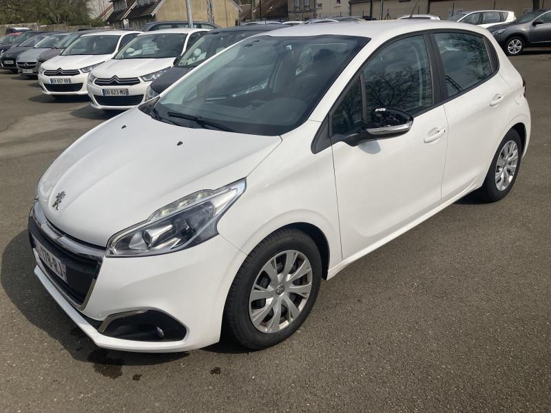 Peugeot 208 1.6 BLUEHDI 75CH ACTIVE 5P Diesel BLANC Occasion à vendre