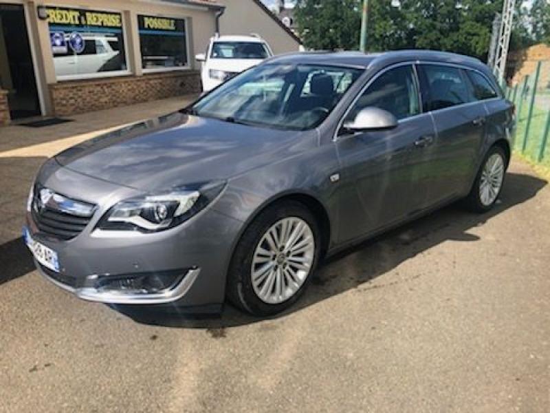 Opel INSIGNIA SP TOURER 1.6 CDTI 136CH COSMO PACK ECOFLEX START&STOP Diesel GRIS C Occasion à vendre