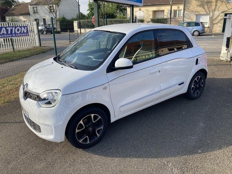 Renault TWINGO III 1.0 SCE 75CH INTENS - 20 Essence BLANC Occasion à vendre