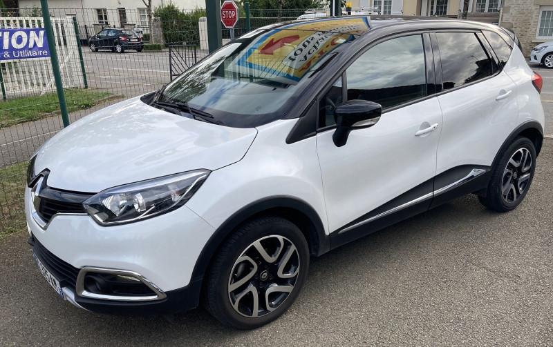 Renault CAPTUR 1.5 DCI 110CH ENERGY INTENS Diesel BLANC Occasion à vendre