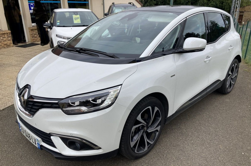 Renault SCENIC IV 1.2 TCE 130CH ENERGY INTENS Essence BLANC Occasion à vendre