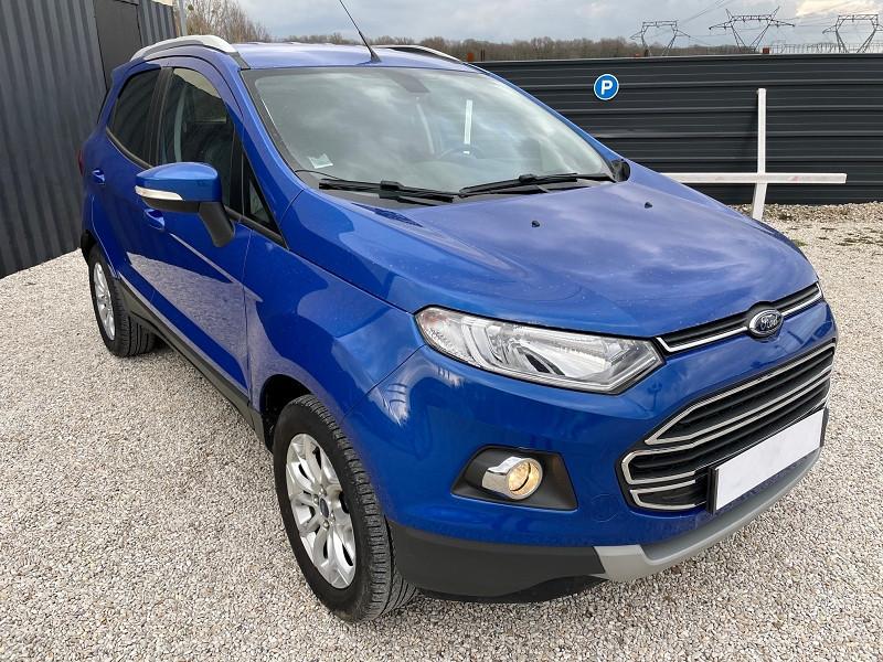 Ford ECOSPORT 1.0 ECOBOOST 125CH TITANIUM Essence BLEU F Occasion à vendre