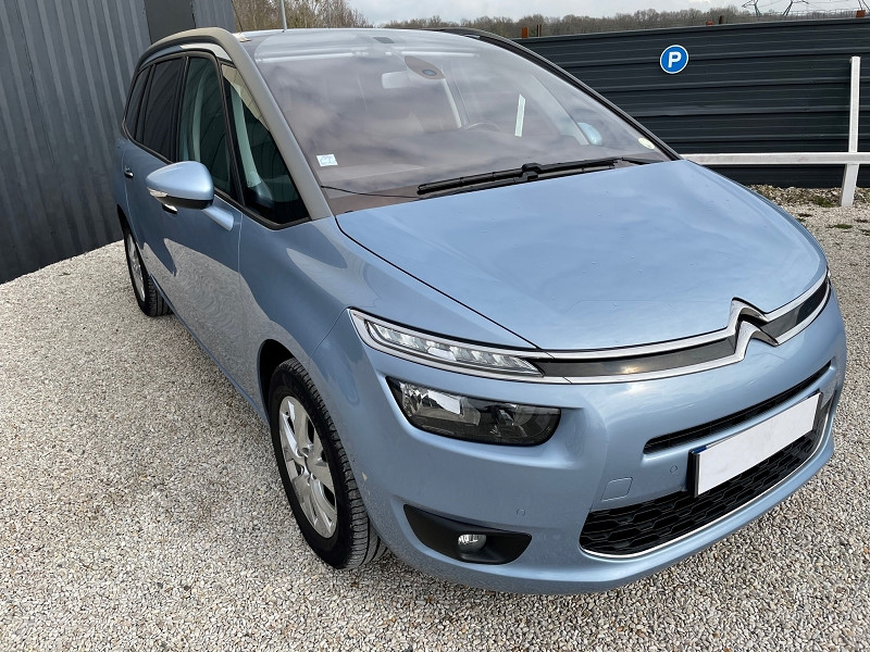 Citroen GRAND C4 PICASSO 7 PLACES E-HDI 115CH BUSINESS + ETG6 Diesel BLEU C Occasion à vendre