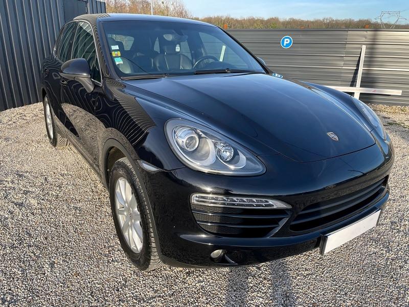 Porsche CAYENNE (958) V6 TIPTRONIC BOITE AUTOMATIQUE Essence NOIR Occasion à vendre