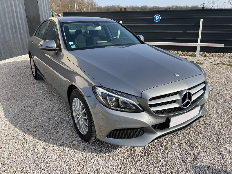 Mercedes-Benz CLASSE C (W205) 200 BLUETEC BUSINESS Diesel GRIS  Occasion à vendre