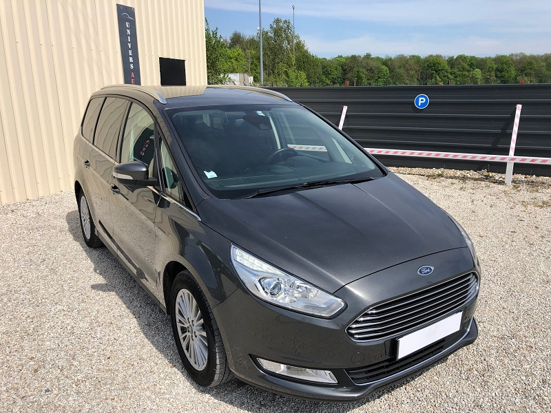 Ford GALAXY 2.0 TDCI 150CH STOP&START TITANIUM POWERSHIFT Diesel GRIS MAGNETIC Occasion à vendre