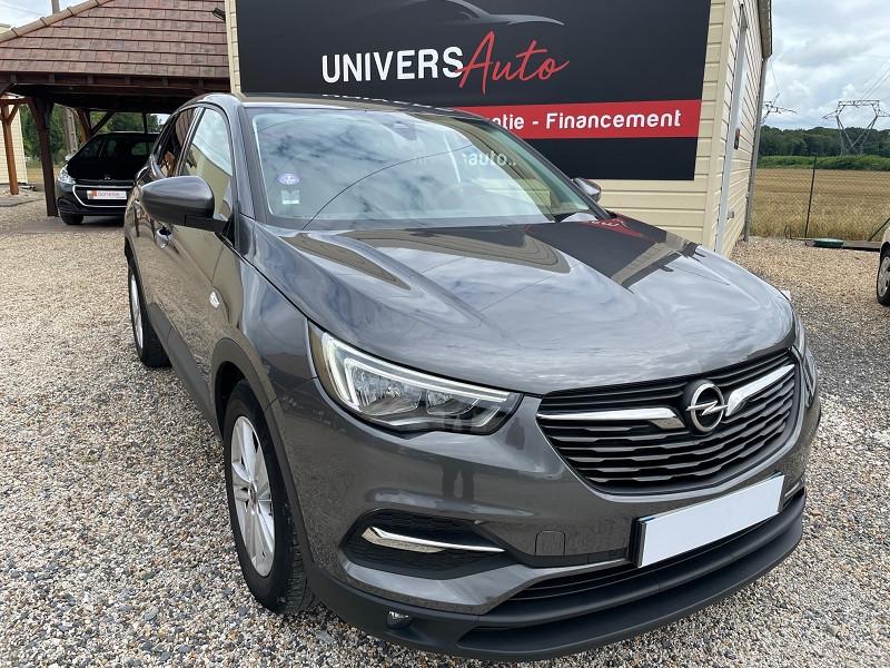 Opel GRANDLAND X 1.2 TURBO 130CH EDITION BUSINESS 7CV Essence GRIS C Occasion à vendre