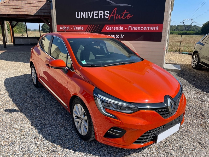 Renault CLIO V 1.0 TCE 100CH INTENS Essence ORANGE Occasion à vendre