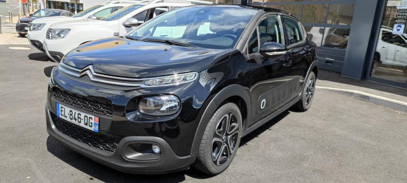 Citroen C3 BLUEHDI 100CH SHINE S&S Diesel NOIR Occasion à vendre