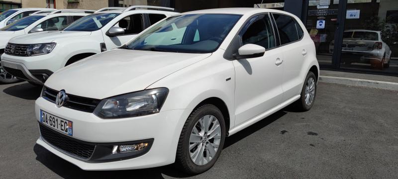 Volkswagen POLO 1.6 TDI 90CH BLUEMOTION TECHNOLOGY FAP LIFE 5P Diesel BLANC Occasion à vendre