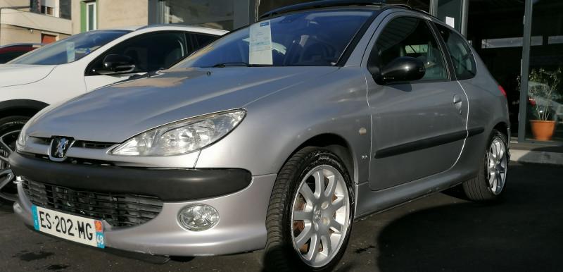 Peugeot 206 2.0 16V S16 3P Essence GRIS C Occasion à vendre