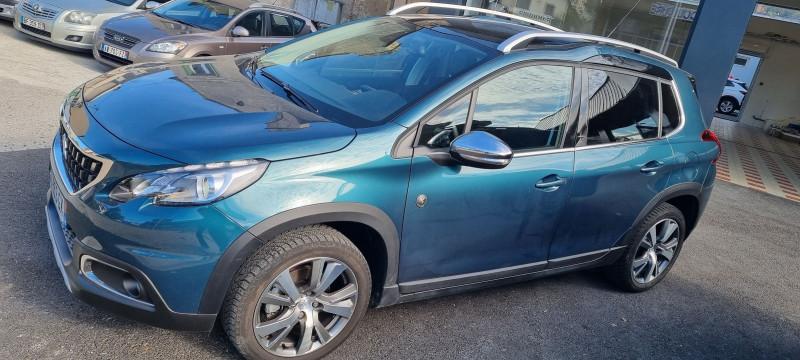 Peugeot 2008 1.2 PURETECH 110CH CROSSWAY S&S Essence BLEU F Occasion à vendre