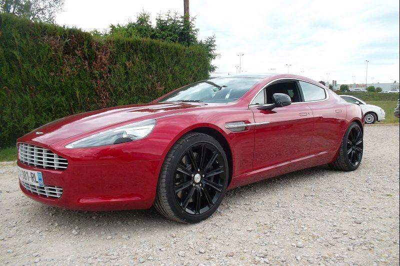 Aston Martin RAPIDE V12 5.9 Essence ROUGE Occasion à vendre