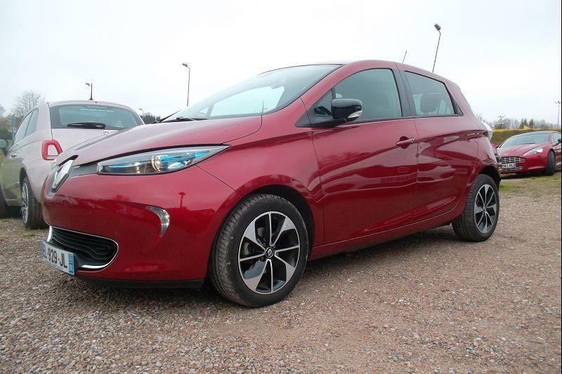 Renault ZOE INTENS CHARGE RAPIDE Q90 Electrique ROUGE Occasion à vendre