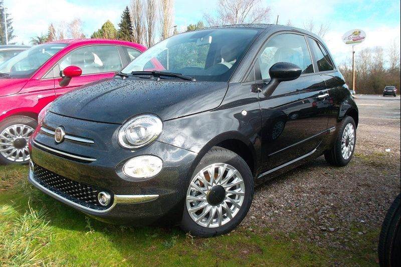 Fiat 500 1.2 8V 69CH S&S LOUNGE  DUALOGIC Essence NOIR Occasion à vendre
