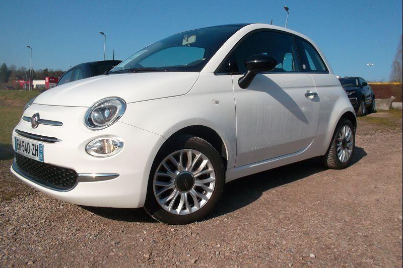 Fiat 500 1.2 8V 69CH LIVE EDIZIONE Essence BLANC Occasion à vendre