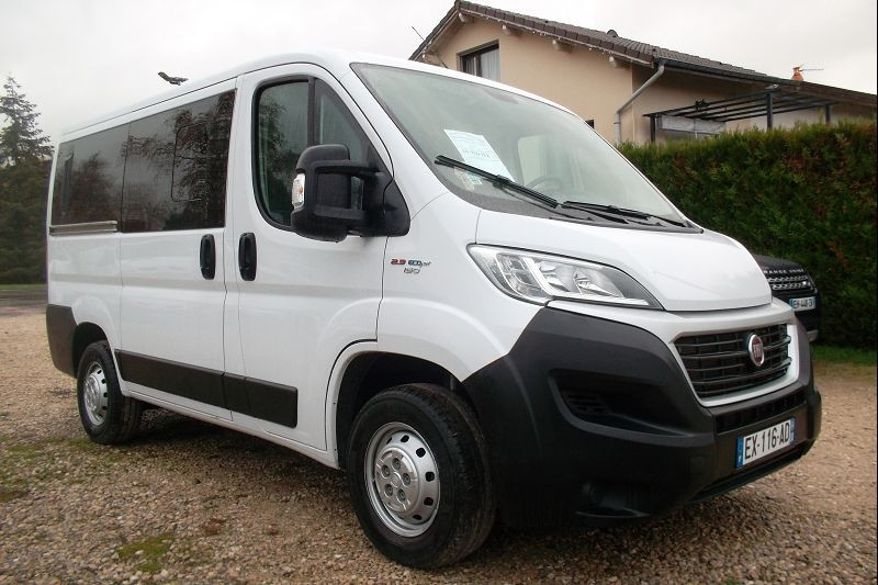 Fiat DUCATO COMBI 3.0 CH1 2.3 MULTIJET 150CH ECOJET EURO6 Diesel BLANC Occasion à vendre