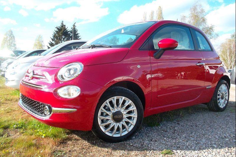 Fiat 500 1.0 70CH BSG S&S LOUNGE Essence ROUGE Occasion à vendre