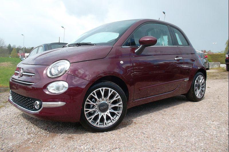 Fiat 500 1.0 70CH BSG S&S STAR Essence BORDEAU Occasion à vendre