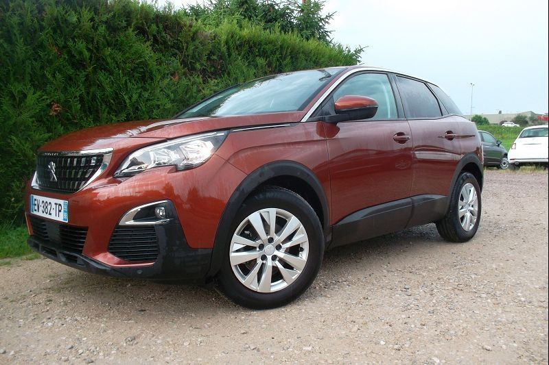 Peugeot 3008 1.5 BLUEHDI 130CH E6.C ACTIVE BUSINESS S&S EAT8 Diesel ORANGE Occasion à vendre