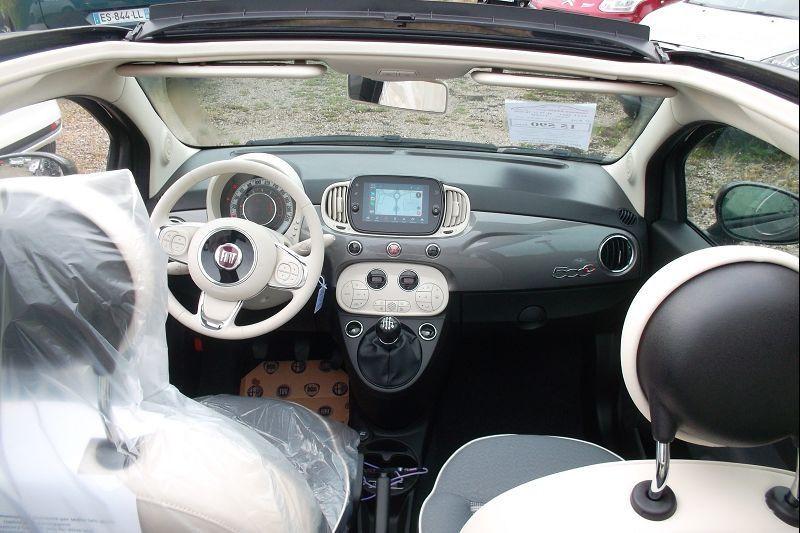 Photo 4 de l'offre de FIAT 500C 1.0 70CH BSG S&S LOUNGE à 15590€ chez François-Pierre automobiles