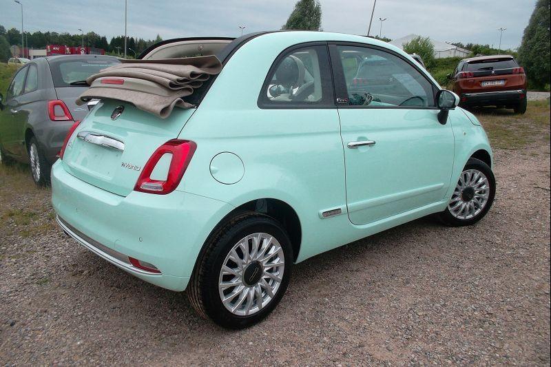 Fiat 500C 1.0 70CH BSG S&S LOUNGE Hybride VERT Occasion à vendre